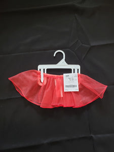 Carter's size 24mo red tulle skirt