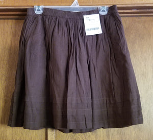 OLD NAVY SZ SMALL juniors brown skirt