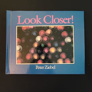 "Hardback Book: ""Look Closer!"" - Can you recognize everyday Items close up?"