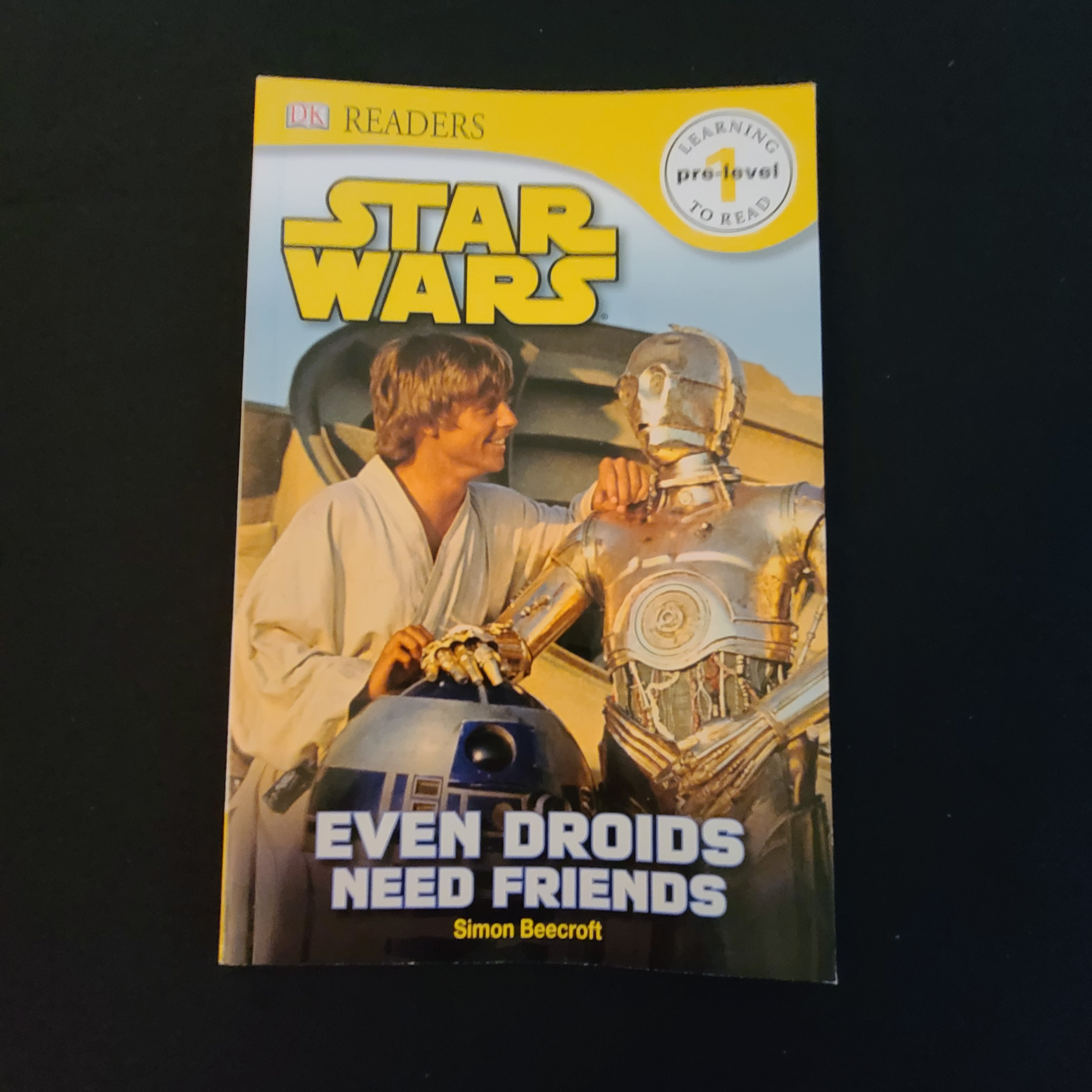 "DK Readers, Pre-level 1: ""STAR WARS - Even Droids Need Friends"""