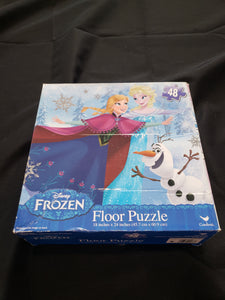 48 piece frozen floor puzzle