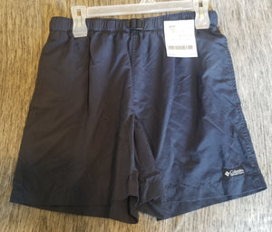 COLUMBIA SZ MEDIUM juniors blue shorts