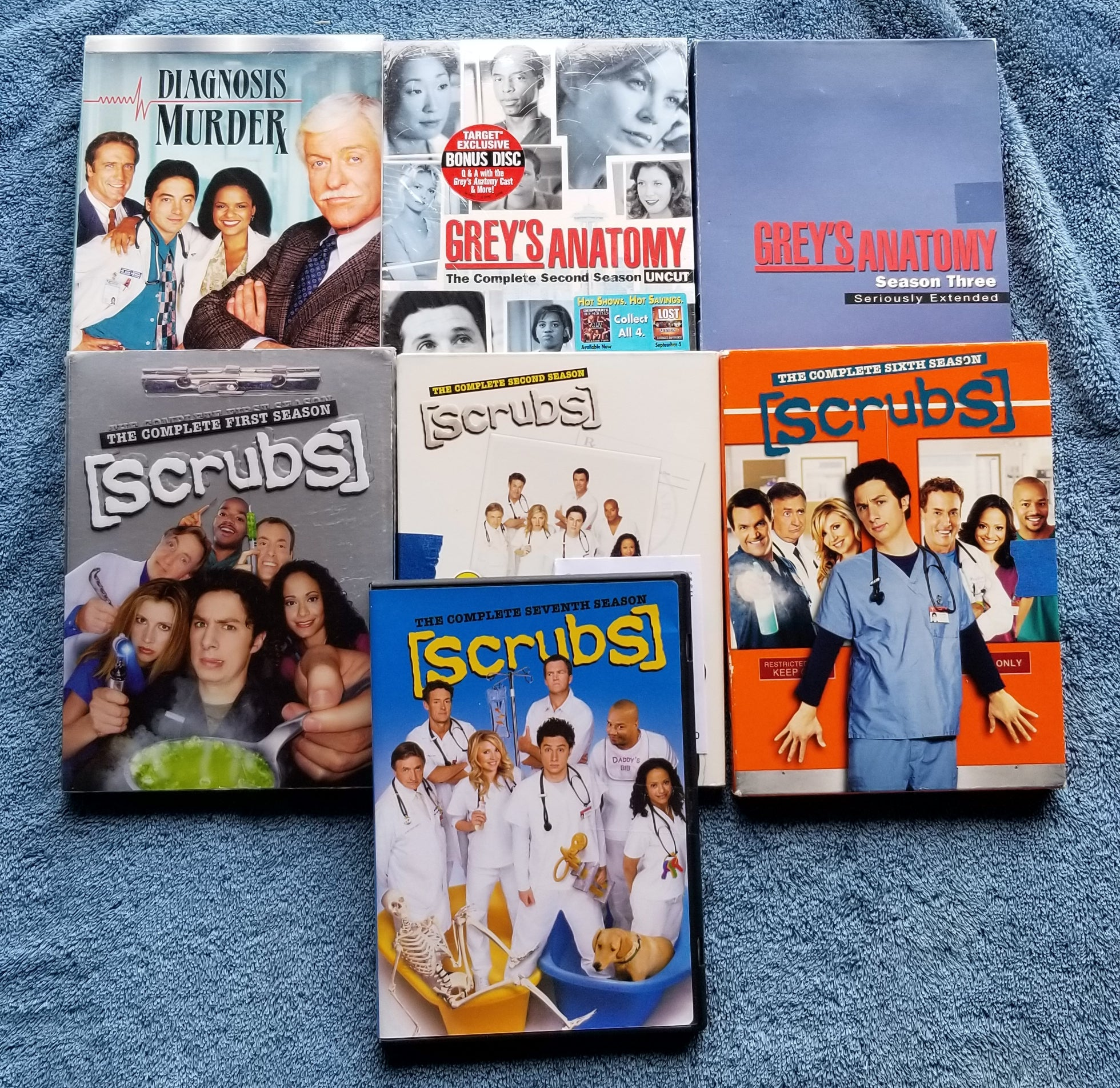 MULTIPLE CHOICE TV MEDICAL SEASONS
