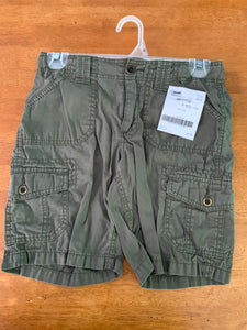 MOSSIMO olive GIRLS Bermuda shorts with adjustable waist, size 10-12