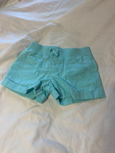 Gymboree Light Blue Cuffed Shorts, Size 6
