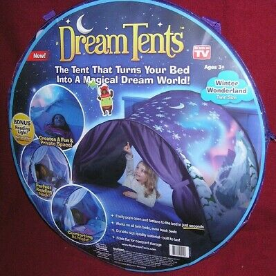 Dream Pop Up Play Tent - Winter Wonderland  *NEW