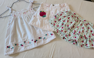 Girls 3 piece GYMBOREE set, Size 2T