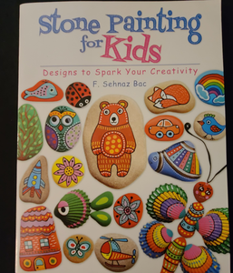 """Stone Painting For Kids"" - Designs to Spark Your Creativity"
