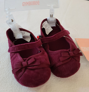 *NWT* GYMBOREE corduroy dress booties, infant girls size 4