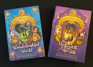 Hardback Books: EVER AFTER HIGH Series - 2 books to choose from