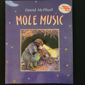 "Paperback Illustrated Book: ""Mole Music"""