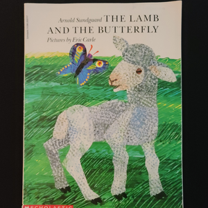 "Paperback Illustrated Book: ""The Lamb and The Butterfly"""