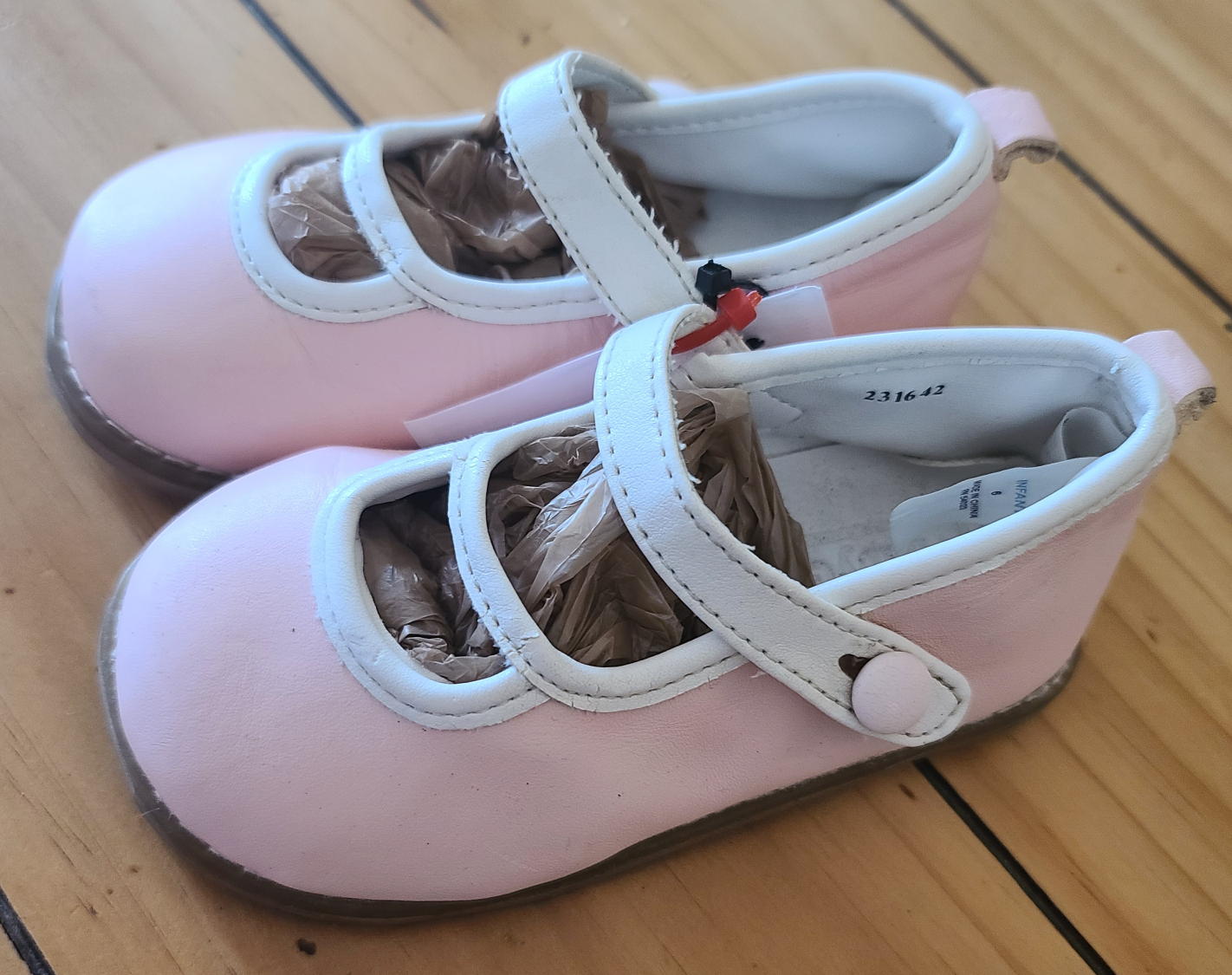 BABY GAP pink dress shoes, Toddler Girls size 6