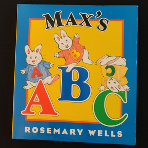 "Hardback Illustrated Book: ""Max's A B C"""