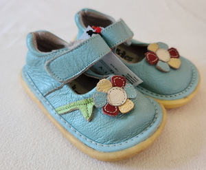 PEDOODLES blue Mary Jane shoes, Toddler girl size 7 / 8
