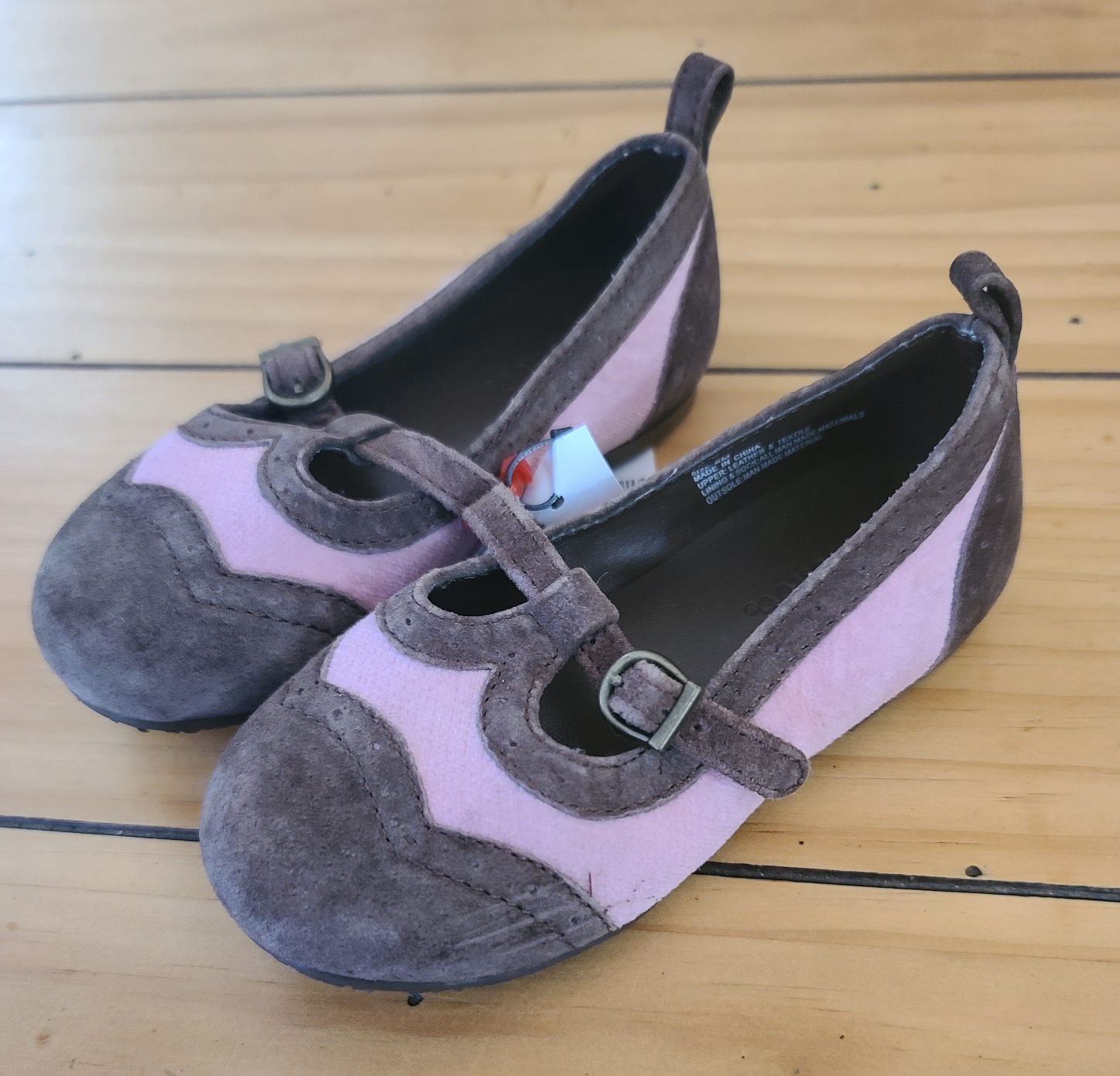 GYMBOREE slip-on dress shoes, Toddler Girls shoe size 6