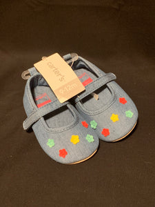 Carters slip on shoes NWT, Size 9-12m