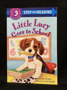 Little Lucy goes to school. Level 3 reader book