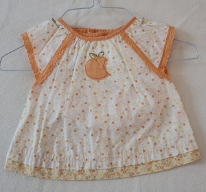 GYMBOREE 2 piece summerwear, infant girls size 3-6 months