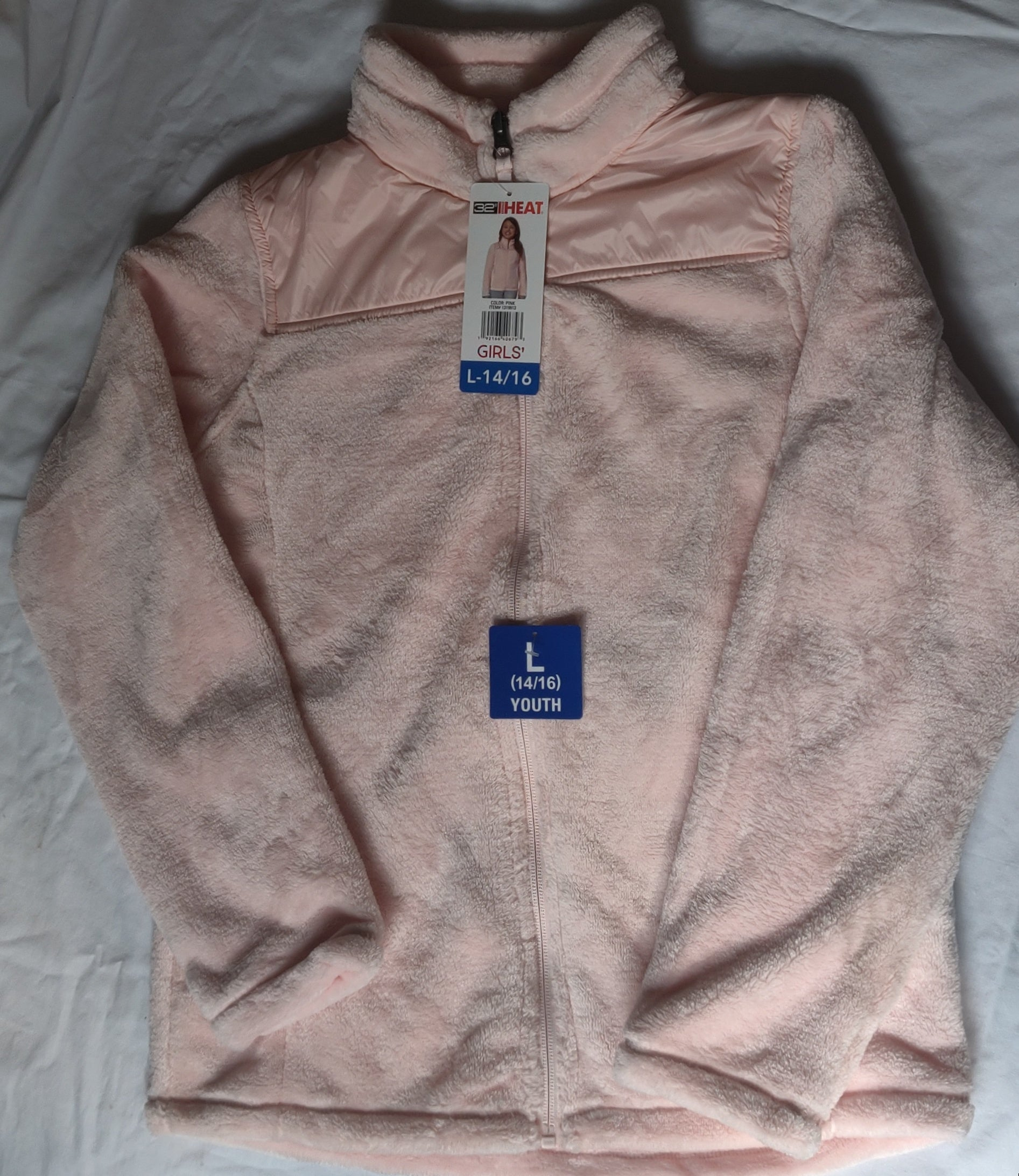 32 degree heat soft jacket *NEW Pink or Purple  Size 14/16