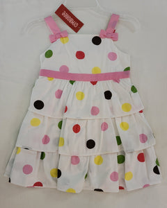 *NWT* GYMBOREE polka dot jumper dress, girls size 4