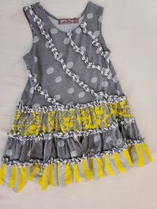 JELLY THE PUG summer dress, girls size 3T