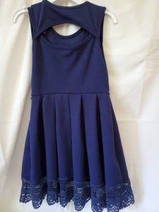 BEAUTEES SIZE 7 blue tank top dress