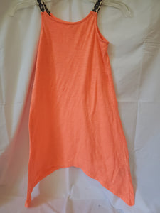 OLD NAVY CORAL dress size 6/7