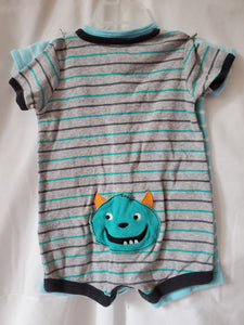 2PC CARTERS 6M ROMPERS