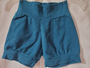9-12m boys teal boutique shorts