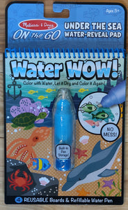 MELISSA & DOUG Water Wow Reuseable Activity Pads - 5 options