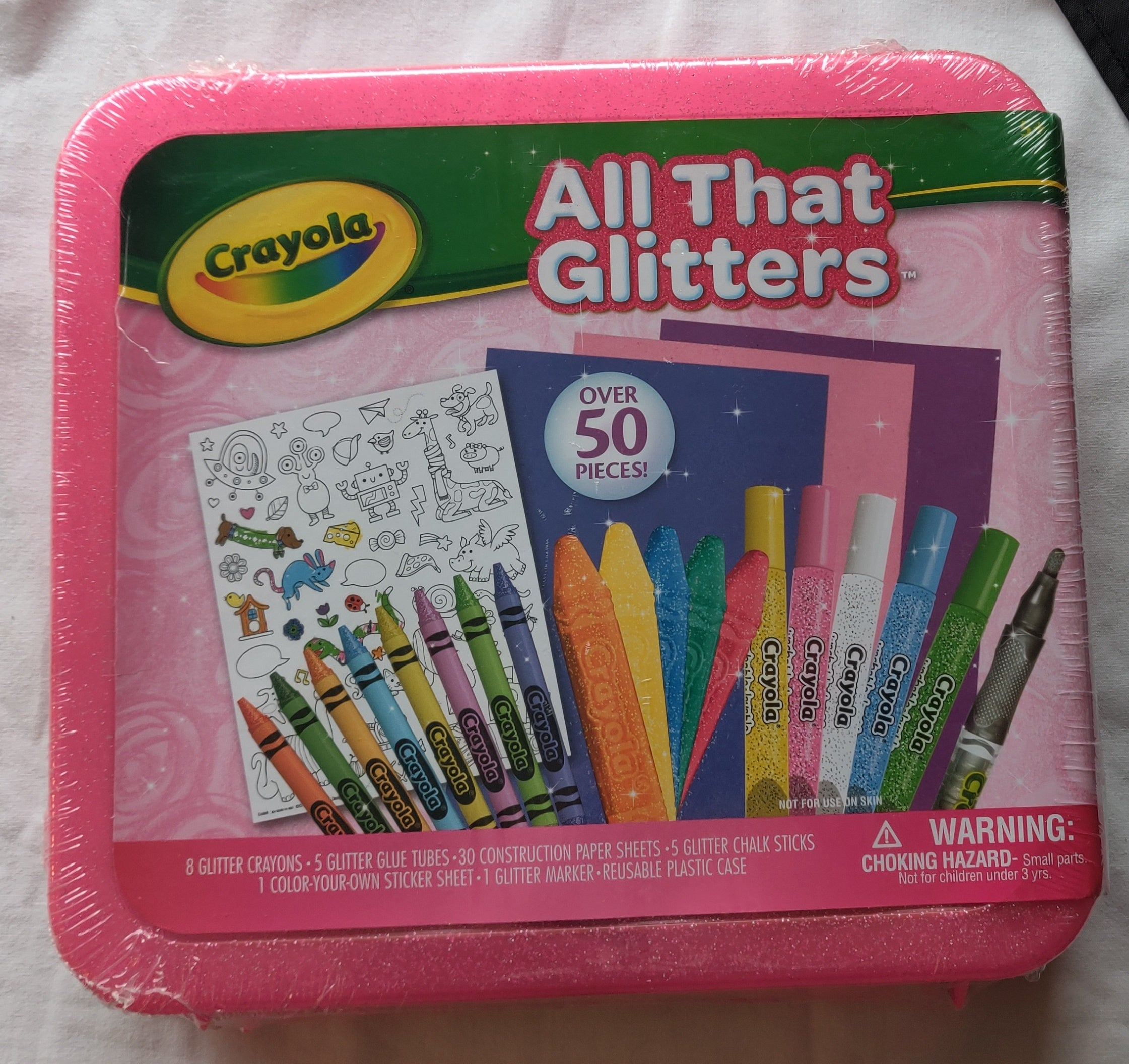 CRAYOLA All That Glitters Art Set- *NEW*