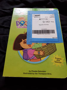123 Dora TAG junior BOOK