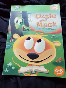 OZZIE AND MACK LEAP FROG TAG BOOK AGES 4-8