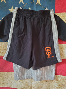 2PC 4T San Francisco Giants set shirt/shorts
