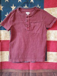 2PC 4T OSHKOSH shirts maroon & grey