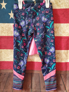 2PC 5T OLD NAVY floral leggings CHILDREN'S PLACE pink spagetti strap