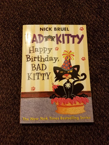 Happy Birthday Bad Kitty NEW paperback