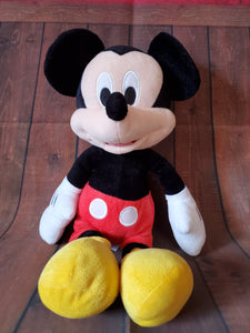Large Mickey stuffed animal