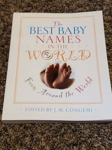 The Best Baby Names In the world book
