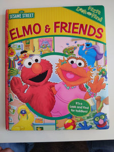 Elmo and friends first look and find book