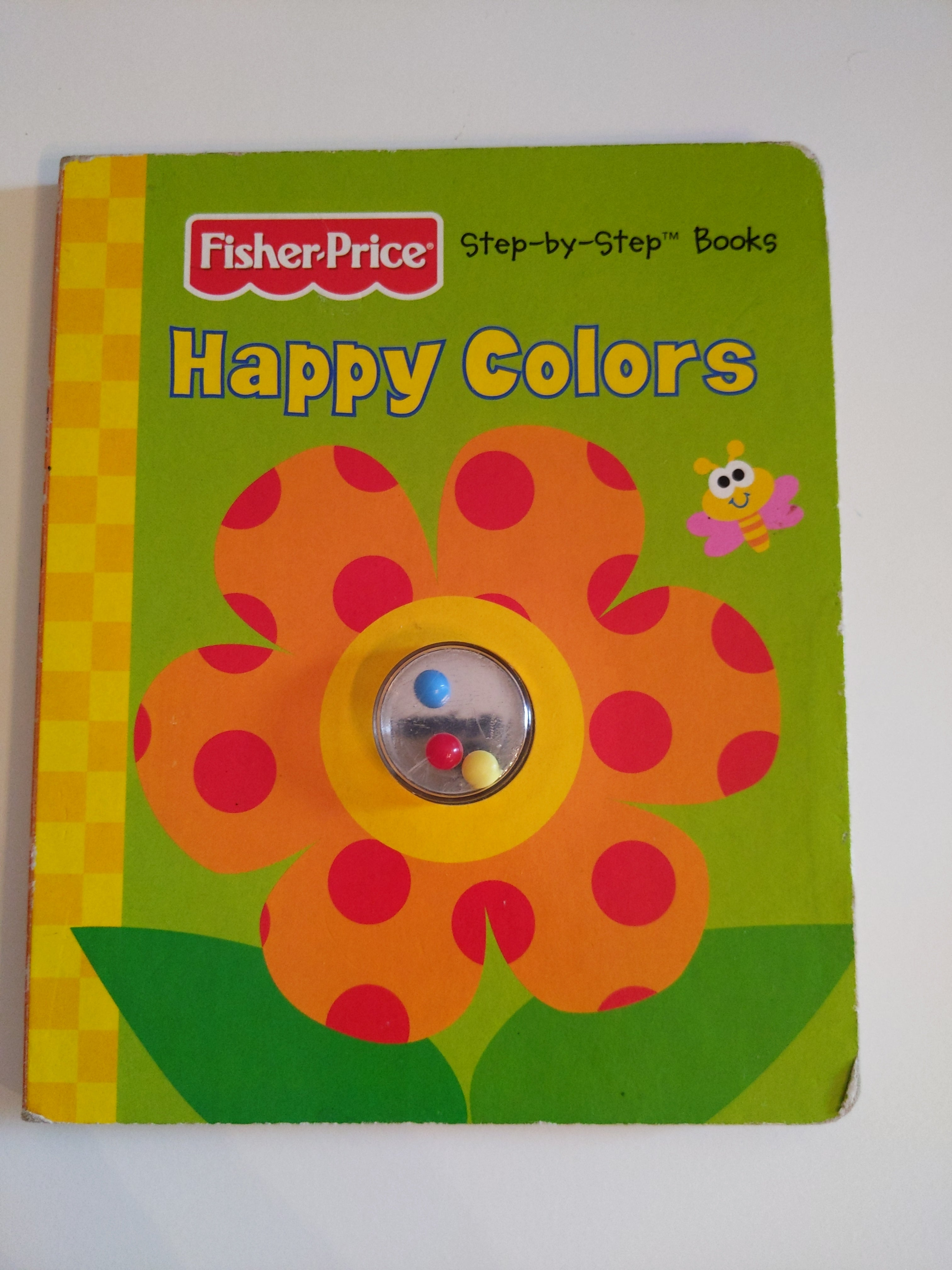 Fisher Price happy colors board book