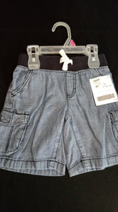 CRAZY 8 blue jean shorts. Size 3T