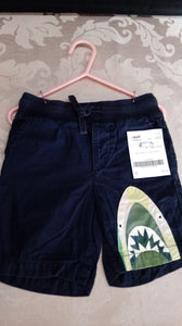 BABY GAP blue shark shorts. Size 3T boys