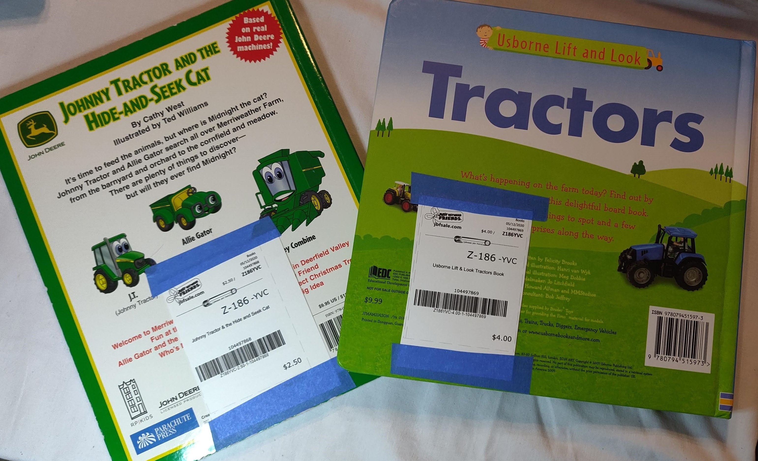 Tractor books (2 choices)