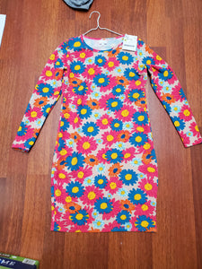 LULAROE large coloful Daisy's dress
