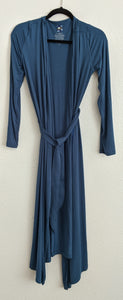 Kickee Pants solid basic robe in Twilight. Size XL(16-18). Retail $80.