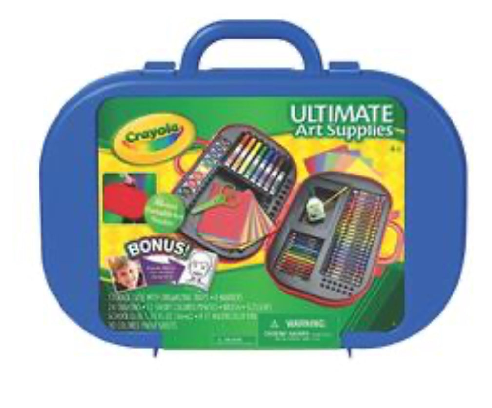 CRAYOLA -Ultimate Art Supplies - Over 85 Pieces - NEW