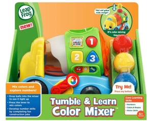 LEAPFROG - Tumble & Learn Color Mixer - NEW!