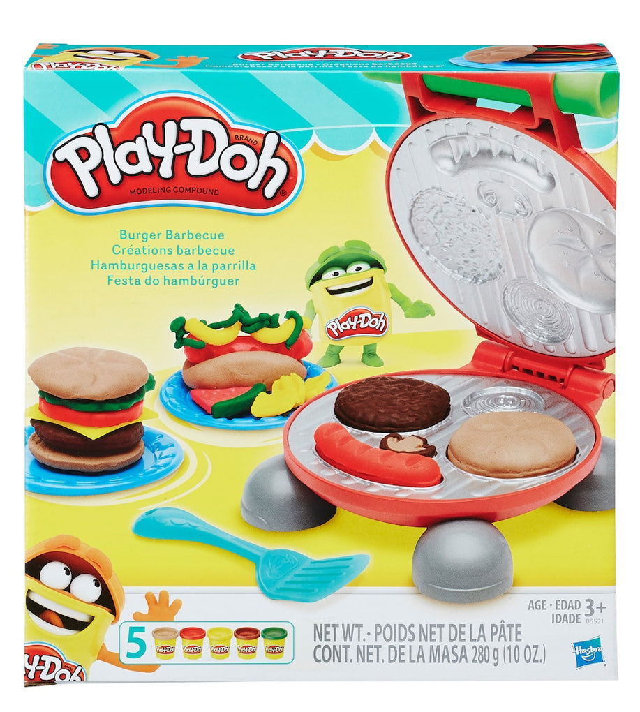 PLAY-DOH - Kitchen Creations - Burger Barbeque - 5 Cans - NEW!
